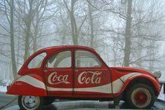Citroën 2CV, Coca-Cola