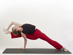 This yoga pose is so beautifully executed!