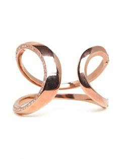 swirl bracelet love the diamonds on the side