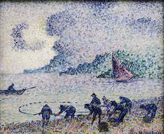 Henri Edmond Cross - Fishermen, 1895