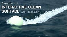 Tutorial: Fully Interactive Ocean with Blender 2.75