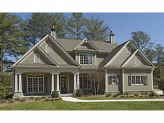 Craftsman House Plan with 3337 Square Feet and 3 Bedrooms from Dream Home Source | House Plan Code DHSW68024