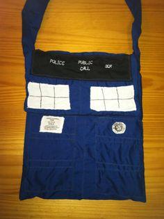 Doctor who Tardis purse bag by NerdvanaMama on Etsy, $27.00