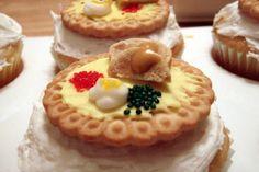 mini thanksgiving dinner cupcakes