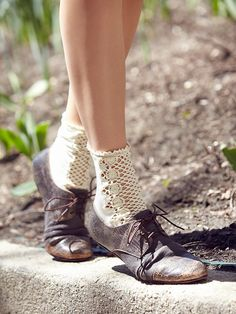 Free People Rhett Distressed Oxford, $95.00
