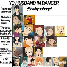 """Suna Rintarou can stomp on me on Instagram: """"I couldn't fit all the fucking husbands but I think yall get the idea😳 × × × × TAGS: [#haikyuu #haikyuumeme #haikyuumemes #haikyuuova…"""""""