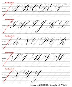 Calligraphy Course, Calligraphy Worksheet, Calligraphy Tutorial, Copperplate Calligraphy, Lettering Tutorial, Hand Lettering For Beginners, Hand Lettering Practice, Calligraphy Practice, Calligraphy Handwriting