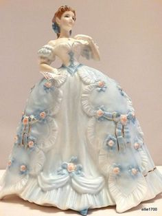 Ed Royal Worcester The First Quadrille China Figurine Made in England 1992 | eBay