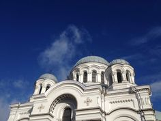 Also known as the Garrison Church, St. Michael's is the official church of the Lithuanian Armed Forces. Michael Church, The Garrison, Modern City, Lithuania, Armed Forces, Taj Mahal, River, Building, Special Forces