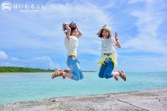 気の合う友人と竹富島旅行