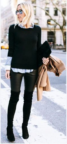 50 Perfect Winter Office Attires To Upgrade Your Work Wardrobe fashion # . - 50 Perfect Winter Office Attires To Upgrade Your Work Wardrobe fashion # … – - Womens Fashion For Work, Look Fashion, Trendy Fashion, Fashion Trends, Fashion Women, Fashion Ideas, Affordable Fashion, Women's Fashion, Street Fashion