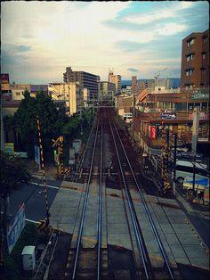 """Railroad"" Photograph by Sakak"