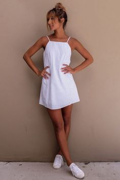 HIGH IN MOTION dress