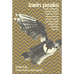 I love the owl design; also Twin Peaks!