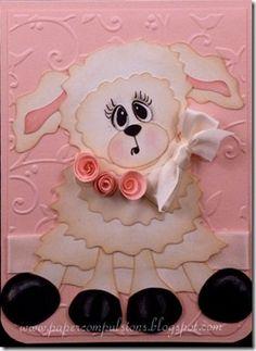 Paper Lamb inspiration