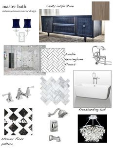 design dump: my new house: master bathroom idea board