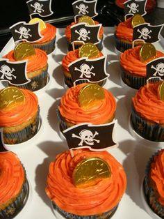 ptrate cupcakes | Pirate Cupcakes | Parties