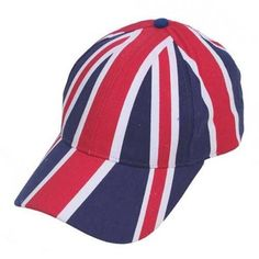 NEW Union Jack Baseball Cap British  Flag  Cap Hat UK Mens Womens