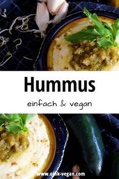 Ein tolles, einfaches Rezept für leckeren Hummus. #vegan #veganeRezepte #veganessen #rezepte #hummus #lecker #veganfrühstück #veganabendessen #schnellerezepte Beef, Snacks, Wine, Dining, Ethnic Recipes, Food, Vegane Rezepte, Fast Recipes, Food Dinners
