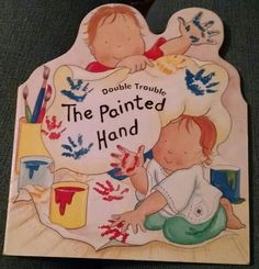 Brown, The Painted Hand, art, babies, painting, bodies, hands, brushes, colors, pictures, draw, handprints