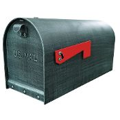 Heavy Duty Rural Mailbox Steel Aluminum Stainless Steel High Security Vandal Proof Mounted Mailbox Steel Mailbox Rural Mailbox
