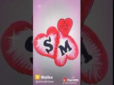 S Love Images, M Letter, Mehndi Designs For Fingers, Romantic Gif, S Word, Aesthetic Pictures, Initials, Lettering, My Love