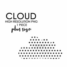 Cloud clipart clip art scrapbooking invitations by SimplyClipArt
