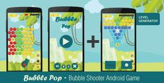 Bubble Pop - A Bubble Shooter Game . Bubble Pop is an addictive classic bubble shooting game template. Blast and burst all bubbles using the blazing cannon. Match 3 bubbles to make them pop! The game is simple. Tap anywhere on the screen to shoot the bubble. If 3 bubbles match in color, they will pop. Clear all bubbles from the screen