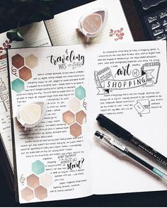 Do you enjoy writing on your journal? Here's a beautiful #journalart inspiration…