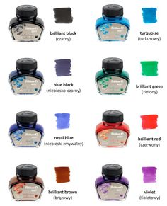 fountain pen ink - Google Search
