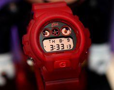 CLOT X CASIO G-SHOCK DW6900CL-4 WATCH