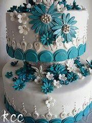 Gorgeous flower cake