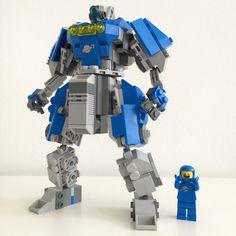 LEGO Neo Classic Space mech by @ohmgee #lego #80s #benny #everythingisawesome