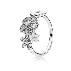 PANDORA Rings - Sterling Silver & Gold   PANDORA