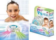 Party in the tub light világító, vízálló fürdőszobai gyermekjáték