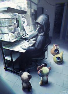 [Imagenes del scp 049 y noc que mas? Scp 1048, Scp Cb, Memes Arte, Horror, Plague Doctor, Creepy Art, Creepy Drawings, Fan Art, Anime