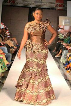 Most gorgeous african fashion style looks 9254 African Dresses For Women, African Print Dresses, African Attire, African Wear, African Fashion Dresses, African Women, African Prints, Ghanaian Fashion, Ankara Fashion