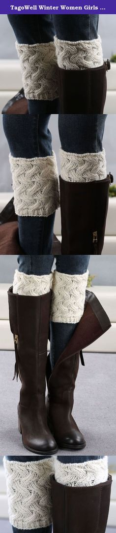 TagoWell Winter Women Girls Leg Warmer Crochet Knit Boot Socks Short Boot Cuffs Twill-White. Winter is coming.It means that we have to shiver in the cold. Boots is a very good choice to warm our legs. However,in boots and air needs something to block the wind.But cuffs appears. NOTICE Pictures can't represent actual size,Please check size or dimension info before place orders. AFTER SALES Any issue please feel free to contact us first,we will respect your idea.And we will try our best to...