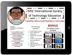 Technology Standards: ISTE w Bonus QR Codes by Satterfield-Brown Technology | Teachers Pay Teachers