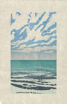 Elizabeth Forrest | moku hanga /Japanese wood block print