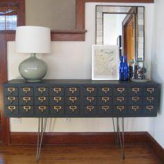 Desiron legs....upcycled furniture ideas | 25 Upcycled Furniture Ideas | Furniture Re-Do