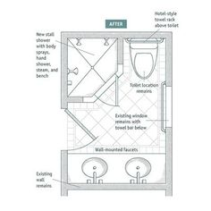 small bathroom with shower