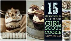 Girl Scout Cookie Madness: 15 New Ways to Cook Up Your Favorite Cookies