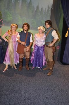 Williams family character meet and greet changes coming to walt meet and greet with rapunzel flynn rider disney character greetings photo m4hsunfo