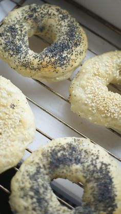 Nowojorskie bajgle/ New York bagels