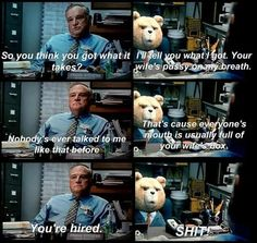 ted the movie quotes | Floor watching the movie question ted-movie-quotes cars toon maters ...