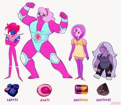 Here's the compilation I promised you guys; added the crystal gems in there for a size comparison. I think I'm done w...