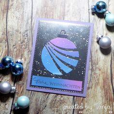 Karten-Kunst » Weihnachtskugel