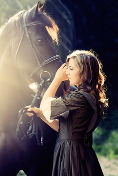 A girl and her horse...#Repin By:Pinterest++ for iPad#