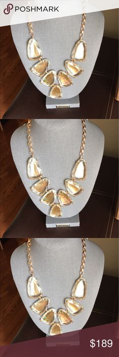 Kendra Scott brown MOP Harlow Nwt Kendra Scott Nwt brown MOP Harlow comes in box with dust bag beautiful piece Kendra Scott Jewelry Necklaces